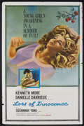 """Movie Posters:Romance, Loss of Innocence (Columbia, 1961). One Sheet (27"""" X 41""""). Roamnce.Starring Kenneth More, Danielle Darrieux and Susannah Yo..."""