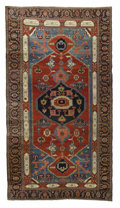 Rugs & Textiles:Carpets, An Antique Serapi Carpet. Caucasian. Circa 1880. wool. 12.5 feet x23 feet.