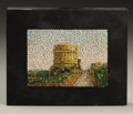 Decorative Arts, Continental:Other , An Italian Micro-mosaic Panel. Rome, Italy. Twentieth Century.Micro-mosaic. Marks: with label in reverse from Studio de...