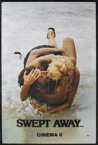 "Swept Away... by an Unusual Destiny in the Blue Sea of August (Cinema 5, 1975). One Sheet (29.5"" X 44.5""). Com..."
