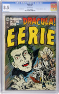 Golden Age (1938-1955):Horror, Eerie #12 (Avon, 1953) CGC VF+ 8.5 Off-white pages....