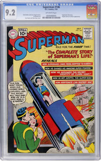 Superman #146 (DC, 1961) CGC NM- 9.2 Off-white pages