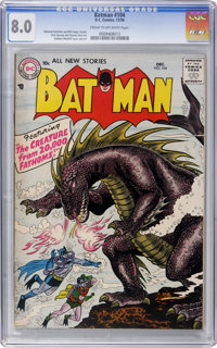 Batman #104 (DC, 1956) CGC VF 8.0 Cream to off-white pages