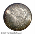 1893-O $1 MS63 ANACS. Not only is this Select '93-O Morgan extremely well struck, but the fields display a flashy, semi-...
