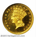 Proof Gold Dollars: , 1876 $1 PR66 Ultra Cameo NGC. As a date, the 1876 is ...