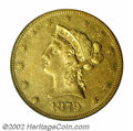 Liberty Eagles: , 1879-CC $10 AU50 PCGS. Winter 1-A. Formerly offered as ...