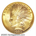 Indian Eagles: , 1932 $10 MS65 NGC. This fully lustrous and smooth Indian ...