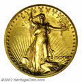 Proof High Relief Double Eagles: , 1907 $20 High Relief PR63 NGC. This is the first of two ...