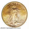 """Saint-Gaudens Double Eagles: , 1926-D $20 MS63 PCGS. Writing in 1990, Akers said, """"Like ..."""
