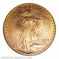 Saint-Gaudens Double Eagles: , 1931 $20 MS64 NGC. Opinions differ regarding the rarity ...