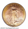 Saint-Gaudens Double Eagles: , 1931-D $20 MS61 PCGS. This is another issue at the end of ...