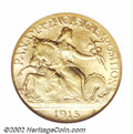 Commemorative Gold: , 1915-S $2 1/2 Panama-Pacific Quarter Eagle MS65 NGC. This ...