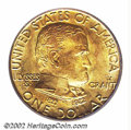 Commemorative Gold: , 1922 $1 Grant with Star MS66 PCGS. An originally ...