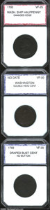 Additional Certified Coins: , 1783 1C Washington & Independence Cent, Draped Bust, No ...
