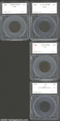 Additional Certified Coins: , 1804 1/2 C Plain 4, Stems Half Cent VF20 SEGS (Fine 15), ...