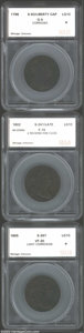 Additional Certified Coins: , 1796 1C Draped Bust Reverse of 1796 Cent Good 4 Corroded ...