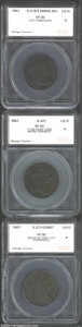 Additional Certified Coins: , 1801 1C 3 Errors Cent VF30 Light Corrosion SEGS (VF20 ...