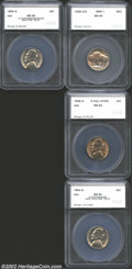 Additional Certified Coins: , 1936-S/S 5C Nickel MS64 SEGS (MS63), FS-20, RPM-1, the ...