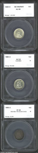 Additional Certified Coins: , 1839-O 10C No Drapery Dime AU58 SEGS (AU58 Cleaned), well ...