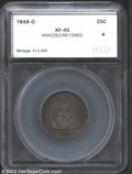 Additional Certified Coins: , 1849-O 25C Quarter XF45 Whizzed, Retoned SEGS (XF45 Whizzed,...
