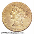 Additional Certified Coins: , 1876-CC $5 Half Eagle AU58 Old Cleaning SEGS (AU50 Cleaned)....