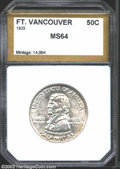 Additional Certified Coins: , 1925 50C Vancouver Half Dollar MS64 PCI (MS63). A little ...