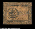 Colonial Notes:Continental Congress Issues, Continental Currency May 10, 1775 $5 Choice Extremely Fine....