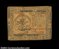 Colonial Notes:Continental Congress Issues, Continental Currency May 10, 1775 $5 Extremely Fine. This ...