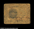 Colonial Notes:Continental Congress Issues, Continental Currency May 10, 1775 $7 Fine. A problem-free ...