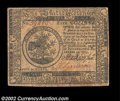 Colonial Notes:Continental Congress Issues, Continental Currency November 29, 1775 $5 Choice Extremely ...