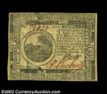 Colonial Notes:Continental Congress Issues, Continental Currency November 29, 1775 $6 Choice New. ...