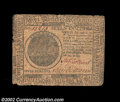 Colonial Notes:Continental Congress Issues, Continental Currency November 29, 1775 $7 Fine. The edges ...