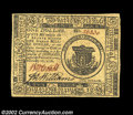 Colonial Notes:Continental Congress Issues, Continental Currency February 17, 1776 $1 Very Choice New. ...