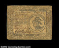 Colonial Notes:Continental Congress Issues, Continental Currency February 17, 1776 $3 Fine. A problem-...