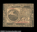 Colonial Notes:Continental Congress Issues, Continental Currency February 17, 1776 $6 Very Choice New. ...