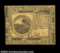 Colonial Notes:Continental Congress Issues, Continental Currency February 17, 1776 $6 Choice New. ...