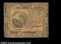 Colonial Notes:Continental Congress Issues, Continental Currency February 17, 1776, $6 Choice Very Fine....