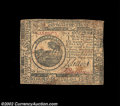 Colonial Notes:Continental Congress Issues, Continental Currency May 9, 1776 $6 Very Fine. A decent ...