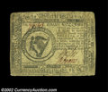 Colonial Notes:Continental Congress Issues, Continental Currency May 9, 1776 $8 Very Fine. A nice ...