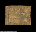 Colonial Notes:Continental Congress Issues, Continental Currency July 22, 1776 $4 Fine-Very Fine. A ...