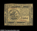 Colonial Notes:Continental Congress Issues, Continental Currency July 22, 1776 $5 Very Choice New. A ...