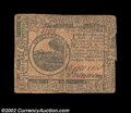 Colonial Notes:Continental Congress Issues, Continental Currency July 22, 1776 $6 Fine. Pleasing for ...