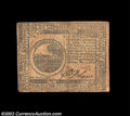 Colonial Notes:Continental Congress Issues, Continental Currency November 2, 1776 $6 Very Fine. This ...