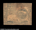 Colonial Notes:Continental Congress Issues, Continental Currency February 26, 1777 $4 Fine-Very Fine. ...