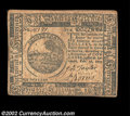 Colonial Notes:Continental Congress Issues, Continental Currency February 26, 1777 $6 Extremely Fine. ...