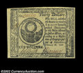 Colonial Notes:Continental Congress Issues, Continental Currency February 26, 1777 $30 Superb Gem New. ...