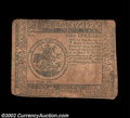 Colonial Notes:Continental Congress Issues, Continental Currency May 20, 1777 $5 Very Fine. A little ...
