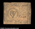 Colonial Notes:Continental Congress Issues, Continental Currency May 20, 1777 $8 Very Fine. The ...