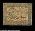 Colonial Notes:Continental Congress Issues, Continental Currency April 11, 1778 $5 Very Fine-Extremely ...
