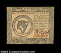 Colonial Notes:Continental Congress Issues, Continental Currency April 11, 1778 $8 Extremely Fine-About ...